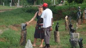 Victoria Falls 2011, Simbabwe, Afrika, Skulpturengarten