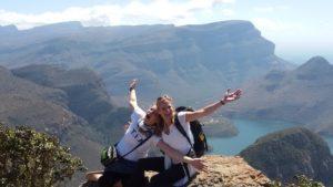 Blyde River Canyon von Südafrika, auf Tour vom Kruger Nationalpark